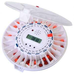 LiveFine Automatic Pill Dispenser - gift for older people